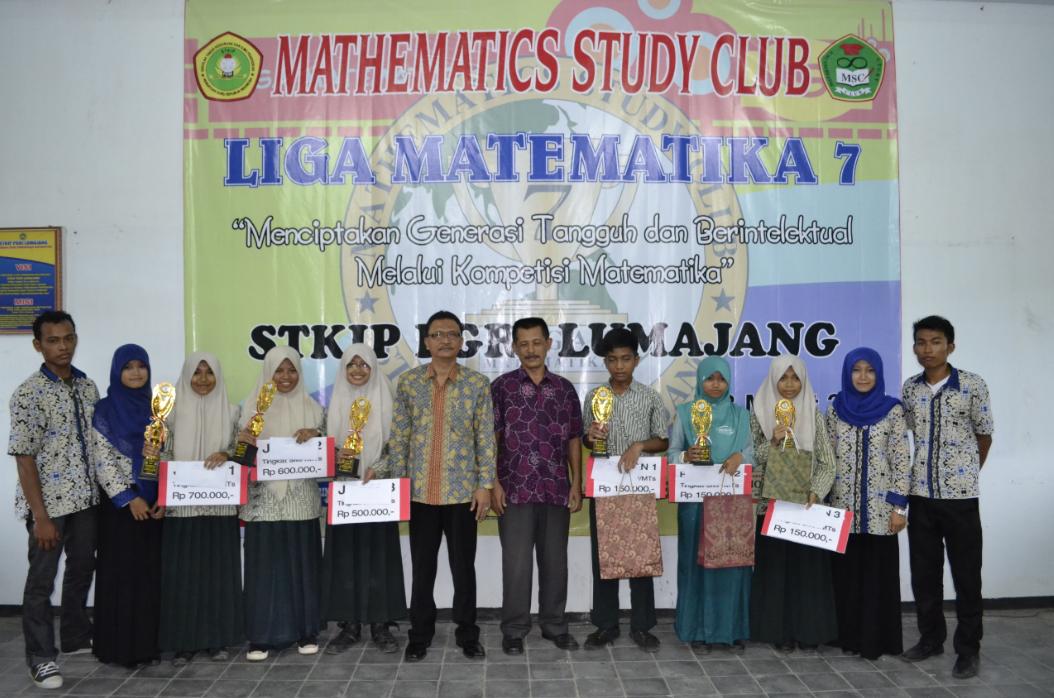 Mathematics Study Club sukses menyelenggarakan Liga Matematika 7