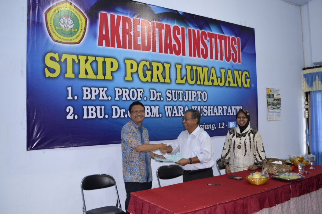 Akreditasi Institusi STKIP PGRI Lumajang